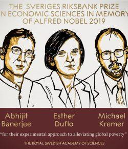 Δελτίο Τύπου με αφορμή την βράβευση με βραβείο Νόμπελ Οικονομίας 2019 των οικονομολόγων Abhijit Banerjee, Esther Duflo και Michael Kremer