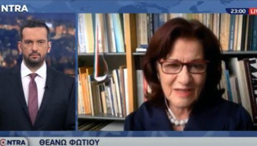 Καλεσμένη στο Kontra-Channel και την εκπομπή KONTRA NEWS10 με τον Γιώργο Μελιγγώνη